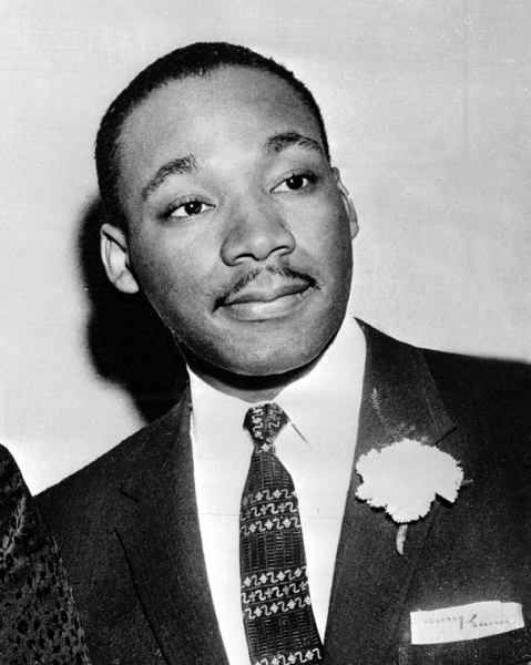 Young Martin Luther King just out of college