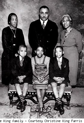 Martin Luther King S Early Life Martin Luther King The Civil